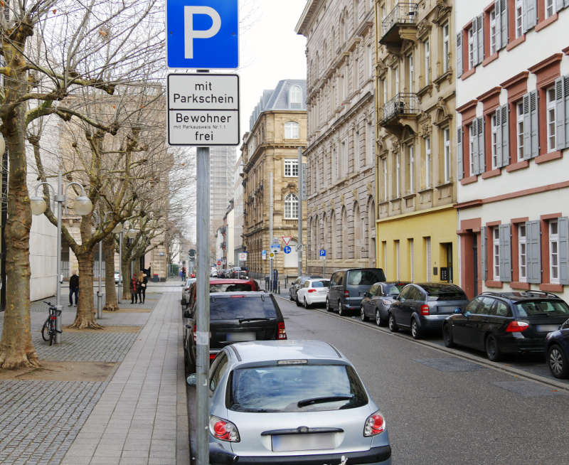 Bewohnerparkausweis Karlsruhe