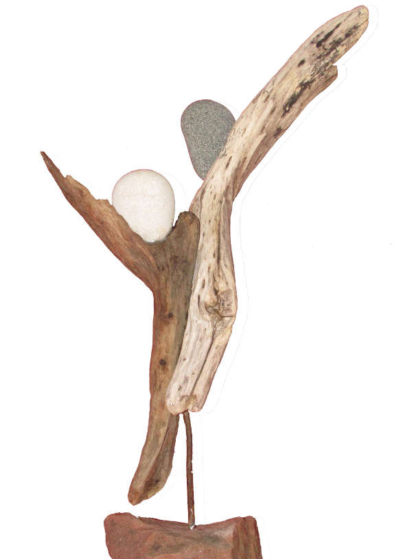 Skulptur des Künstlers Jürgen Armbrust