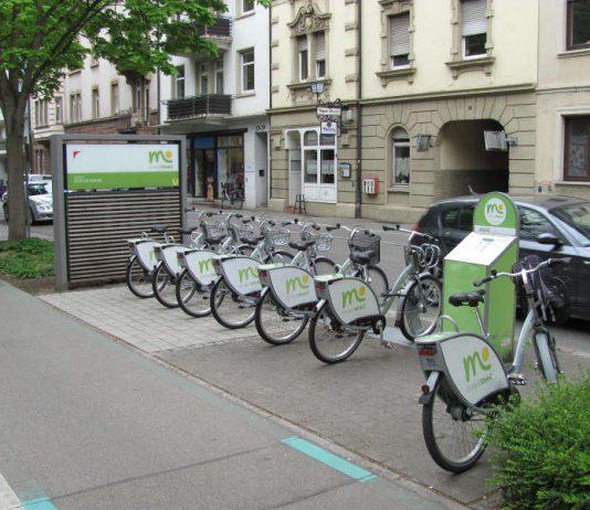 Mobilitätsstation Offenburg (Foto: Michael Bub)