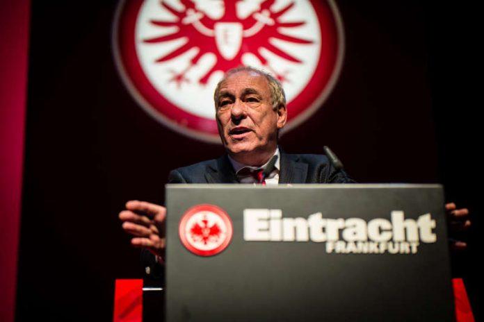 Eintracht-Frankfurt-Präsident Peter Fischer (Foto: Arndt Falter)