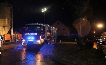 Feuerwehr im Einsatz in Fürth