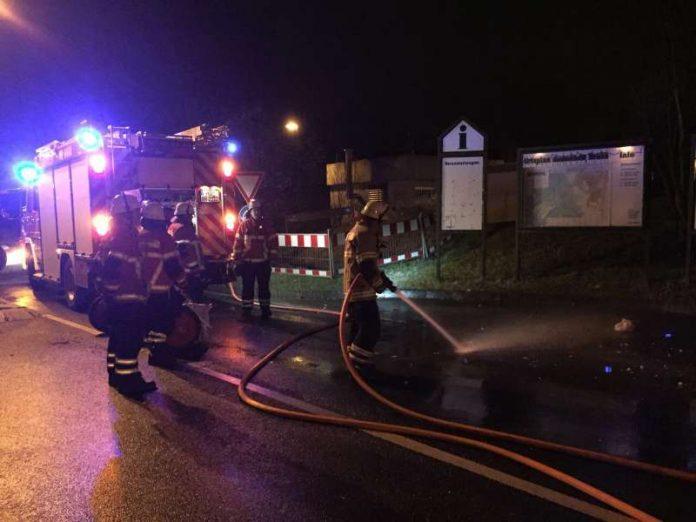 Feuerwehreinsatz (Foto: Feuerwehr Brühl)