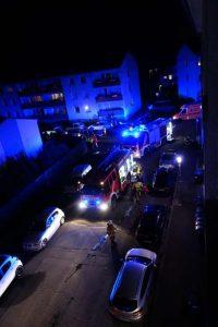 Feuerwehrfahrzeuge (Foto: Feuerwehr Kaiserslautern)