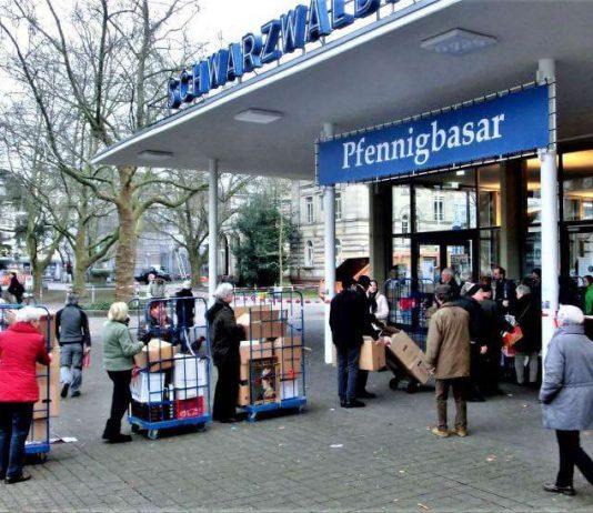 Seit 2005 findet der Pfennigbasar in der Schwarzwaldhalle statt. (Foto: IWC Karlsruhe e.V.)