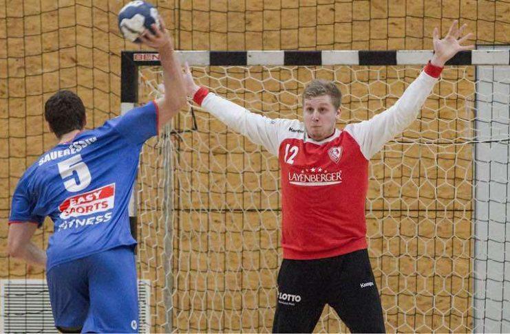 Starker Rückhalt: TuS-Keeper Tim Hottgenroth. (Foto: TuS 04 KL-Dansenberg e.V.)