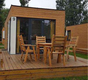 Strandhütten auf einem Campingplatz (Foto: Stadt Frankenthal)