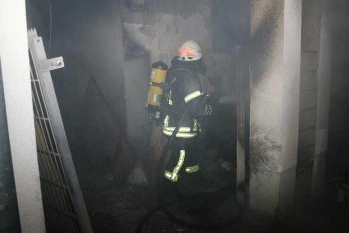 Feuerwehr Speyer im Brand-Einsatz - Quelle: Feuerwehr Speyer