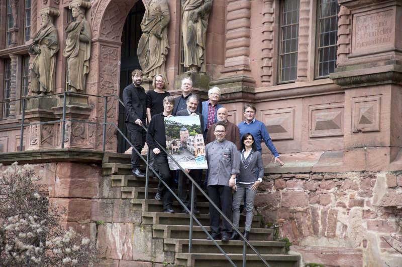 Florian Werkmeister, Natascha Kalmbach, Dietger Holm, Holger Schultze, Dr. Joachim Gerner, Beat Wyrsch, Michael Bös, Karl Hofstätter, Martin Scharff, Katharina Schimek-Hefft (Foto: Sebastian Bühler)