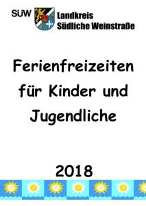 Titelseite der Freizeitbroschüre (Quelle: Kreisverwaltung Südliche Weinstraße)