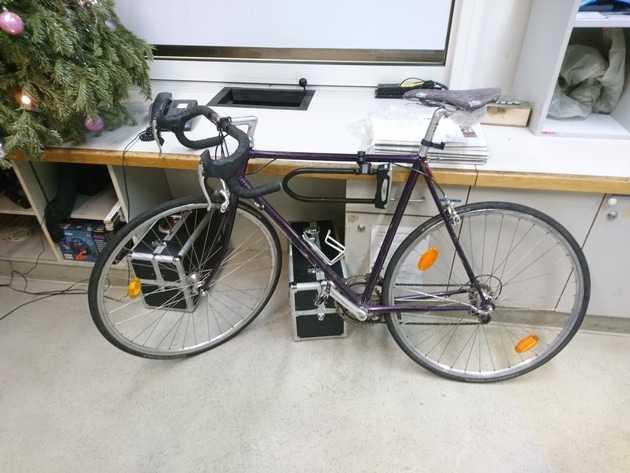 Die Polizei sucht den Besitzer dieses Fahrrades
