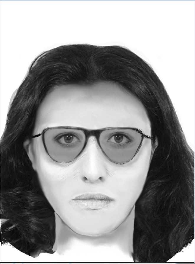 Wer erkennt diese Frau? Wer hat sie zur fraglichen Zeit in der Nähe des Tatortes gesehen