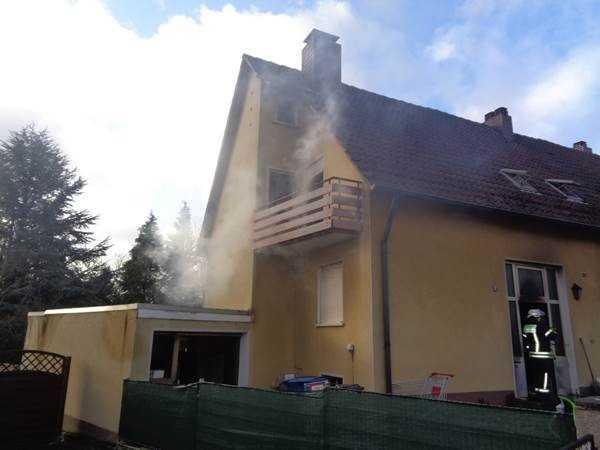 Brandobjekt in Enkenbach