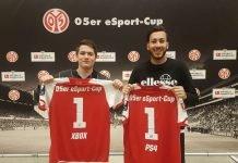v.l.: David Neubauer und Francesco Mazzei (Foto: Mainz 05)