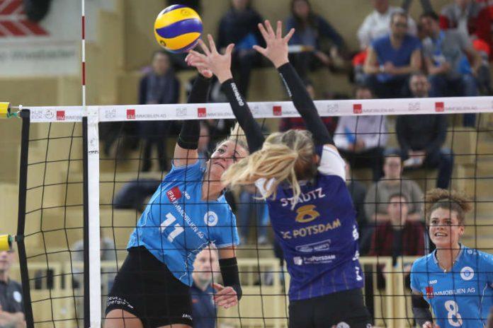 Simona Kóšová wurde auf VCW-Seite zur MVP gewählt (Foto: Detlef Gottwald)