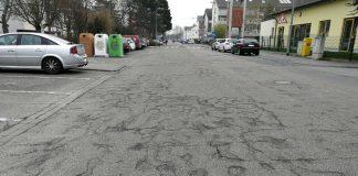 Patchschäden in der Saarlandstraße (Foto: Stadt Viernheim)