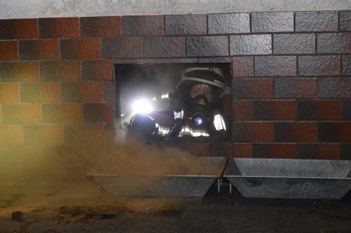 Einsatz wegen eines Kellerbrandes