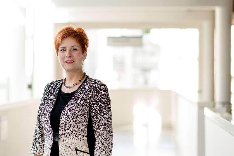 Grit Kraushaar, die neue Leiterin der Abteilung Personal und Allgemeine Verwaltung (Foto: Klinikum Darmstadt/Helmut Hahn)