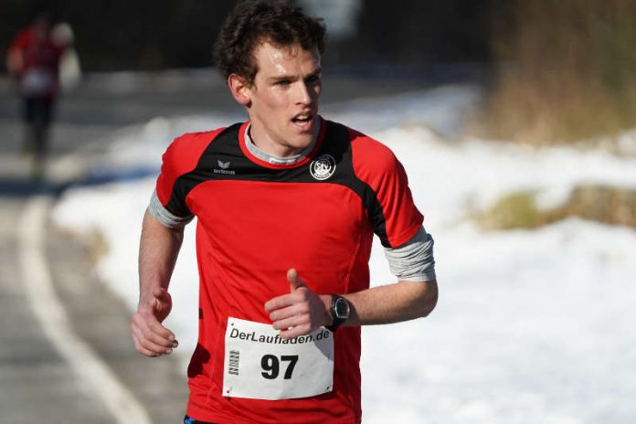 Jonas Lehmann beim Donnersberglauf 2018 (Foto: Holger Knecht)