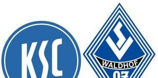 Logos KSC / SV Waldhof Mannheim
