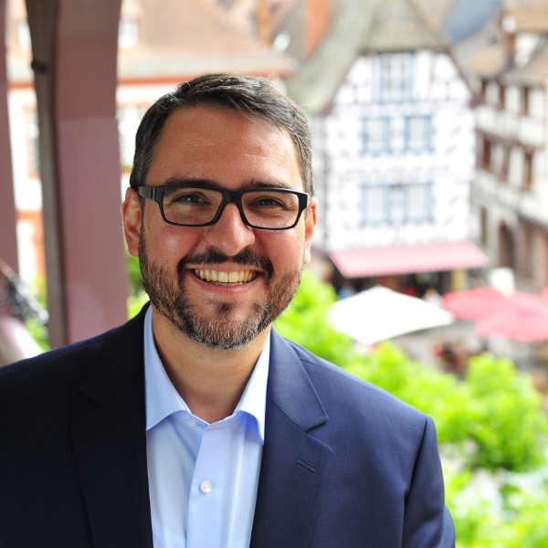 Oberbürgermeister Marc Weigel (Foto: Stadtverwaltung Neustadt)