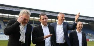 Freude über den neuen Nutzungsvertrag für BRITA-Arena (Foto: SV Wehen Wiesbaden)