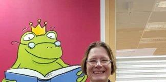 Vera Dopichaj leitet die Stadtbücherei in Bergen-Enkheim (Foto: Stadt Frankfurt)