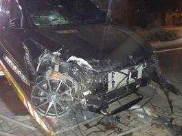 Unfallbeschädigter Mercedes GLE AMG