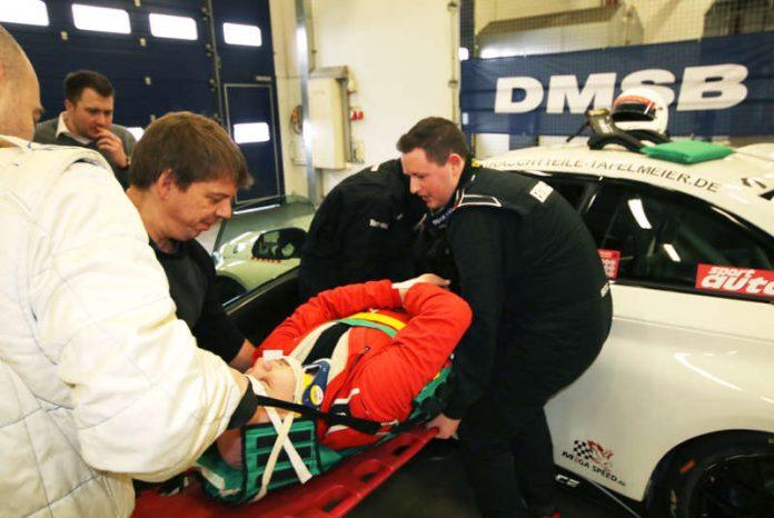 Das Know-how für die Rettung von Teilnehmern aus Fahrzeugen wird bei den