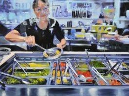 """""""Salatbar"""", gemalt von Martina Dietrich"""
