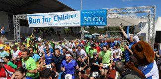 Der Run for Children findet 2018 bereits zum 13. Mal statt. (Foto: SCHOTT / Alexander Sell)