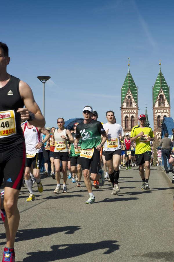 Freiburg-Marathon (Foto: FWTM/Schoenen)