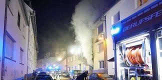 Brand in der Roßdörfer Straße (Foto: Feuerwehr Darmstadt)