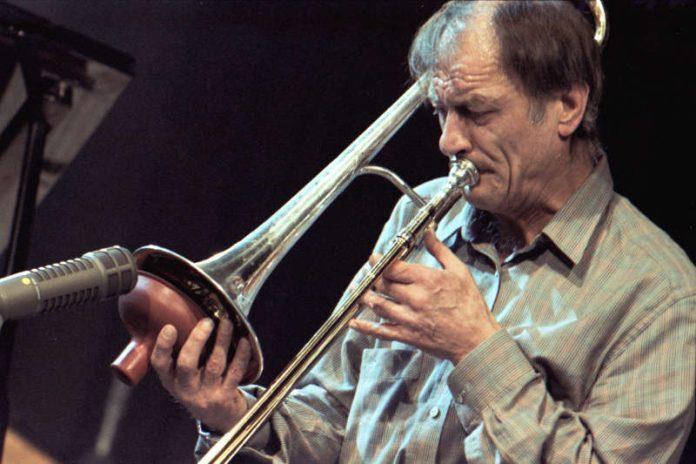 Albert Mangelsdorff im Jahr 1986 (Foto: hr/ Urban Kirchberg)