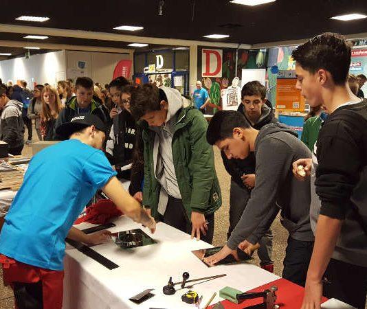 Berufs- und Studienmesse (Foto: WEG Neustadt)