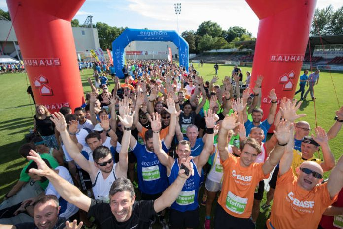 3. BAUHAUS Firmenlauf Mannheim am 13. Juni (Foto: n plus sport GmbH)