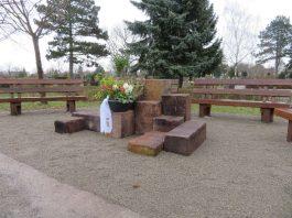 Gedenkplatz Ruhepark (Foto: Gemeindeverwaltung Haßloch)