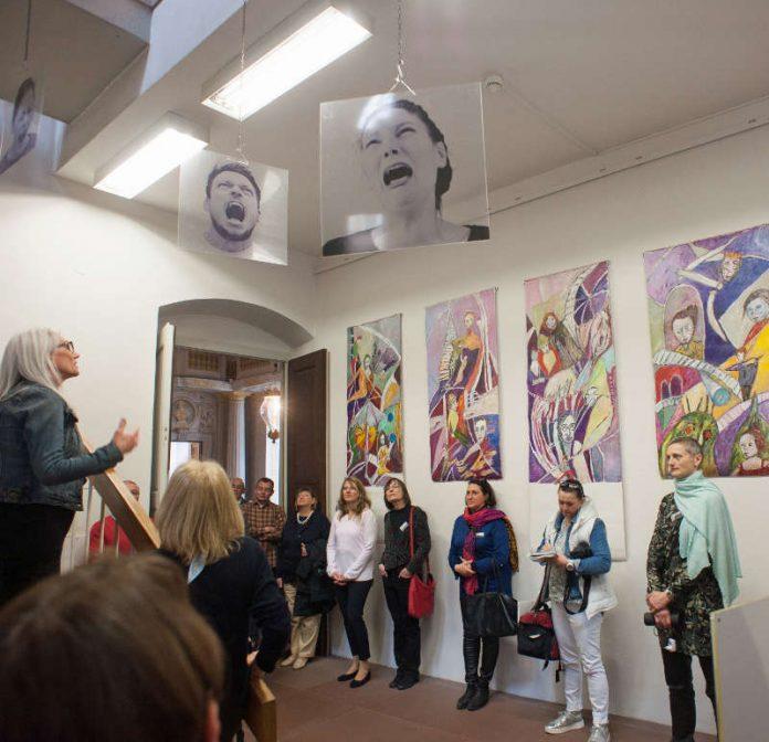 Ausstellungseröffnung (Foto: Klaus Biber)