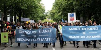 March for Science 2018 (Foto: ScienceMarch Frankfurt‐am‐Main)