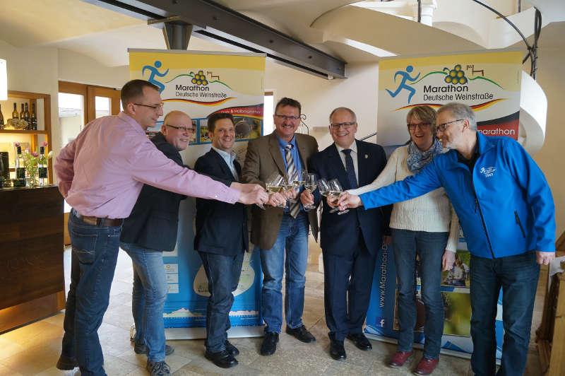 Foto von der Pressekonferenz (Foto: Kreisverwaltung Bad Dürkheim)