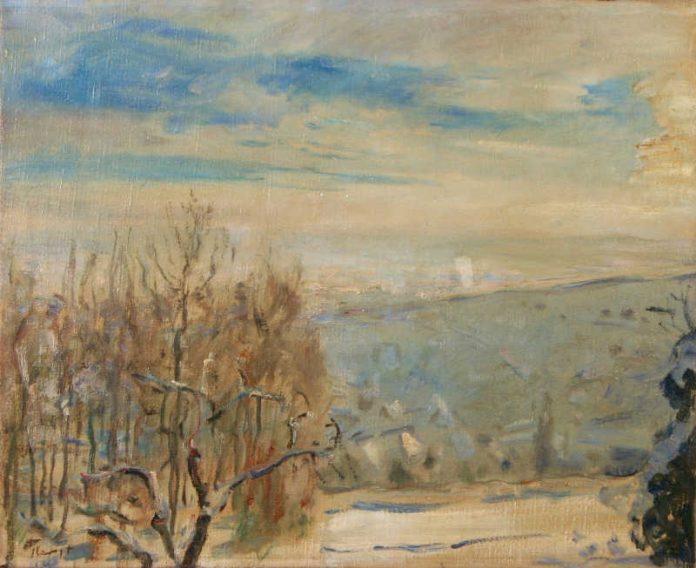 Max Slevogt Winterlandschaft