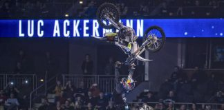Night of The Jumps - Luc Ackermann in Berlin 2018 (Foto: Olli Franke)