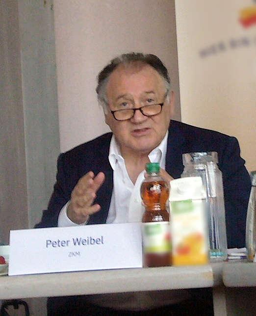 Peter Weibel (Foto: Hannes Blank)