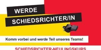 Plakat Schiedsrichter-Kurs (Quelle: bfv)
