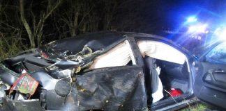 Verkehrsunfall B420 (Foto: Polizei RLP)