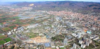 Luftaufnahme Campus Neuenheimer Feld (Foto: UniversitätsKlinikum Heidelberg)