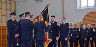 Vereidigung von Laufbahnabsolventen für den mittleren Polizeivollzugsdienst (Foto: Bundespolizei)