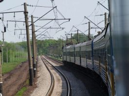 Zugreise Richtung Osten (Foto: Dr. Helmut Müller)