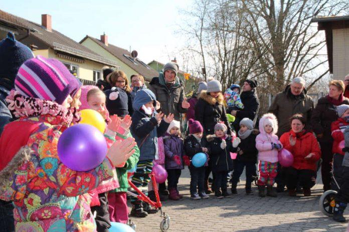 Einweihungsfeier im Birkenweg (Foto: Stadt Speyer)