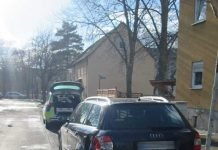 Bei Unfallflucht in der Weidestraße in Kassel beschädigter Audi - Zeugen gesucht!