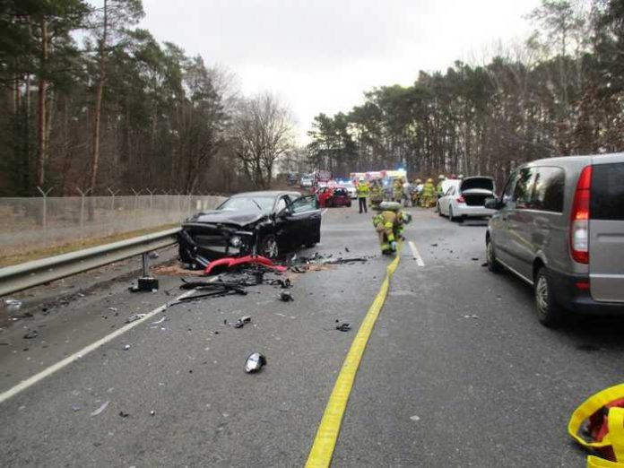 Übersichtaufnahme Unfallort